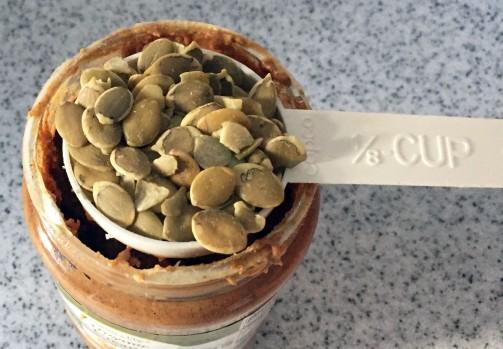 Pumpkin seeds pack more protein per ounce than other nuts or sunflower seeds.