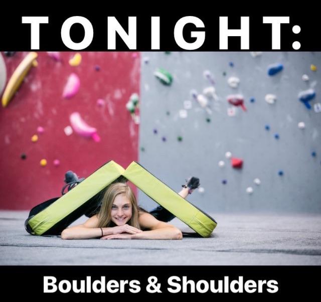BouldersShouldersCoffeeTapeClimb